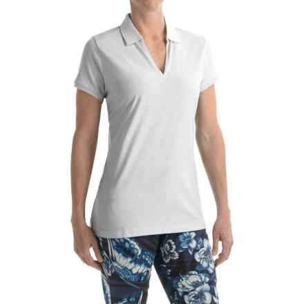Bogner Lumi Golf Polo Shirt - Short Sleeve (For Women) in White - Closeouts