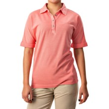 Bogner Madison Polo Shirt - Short Sleeve (For Women) in Salmon - Closeouts