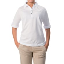 Bogner Madison Polo Shirt - Short Sleeve (For Women) in White - Closeouts