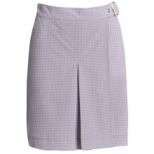 Bogner Maiken Wrap-Around Golf Skirt (For Women) in Purple/White - Closeouts