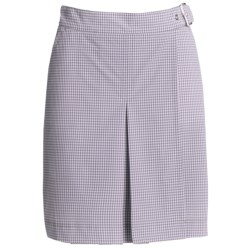 Bogner Maiken Wrap-Around Golf Skirt (For Women) in Purple/White
