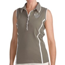 Bogner Marga Golf Polo Shirt - Sleeveless (For Women) in Olive - Closeouts