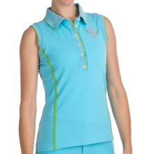 Bogner Marga Golf Polo Shirt - Sleeveless (For Women) in Turquoise - Closeouts