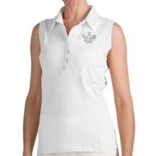 Bogner Marga Golf Polo Shirt - Sleeveless (For Women) in White - Closeouts