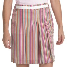 Bogner Marina Cotton Rich Golf Skort (For Women) in Candy Stripe - Closeouts