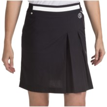 Bogner Marina Fitness Functional Golf Skort (For Women) in Black - Closeouts