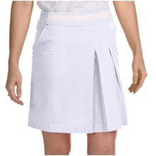 Bogner Marina Fitness Functional Golf Skort (For Women) in White - Closeouts
