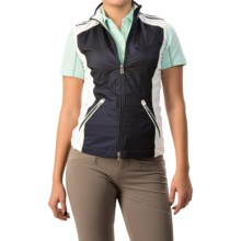 Bogner Mariol Golf Vest (For Women) in Navy - Closeouts