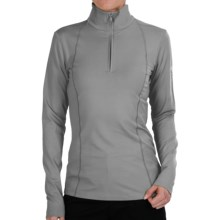 Bogner Marna Jersey Shirt - Zip Neck, Long Sleeve (For Women) in Grey - Closeouts
