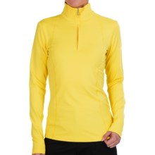 Bogner Marna Jersey Shirt - Zip Neck, Long Sleeve (For Women) in Yellow - Closeouts