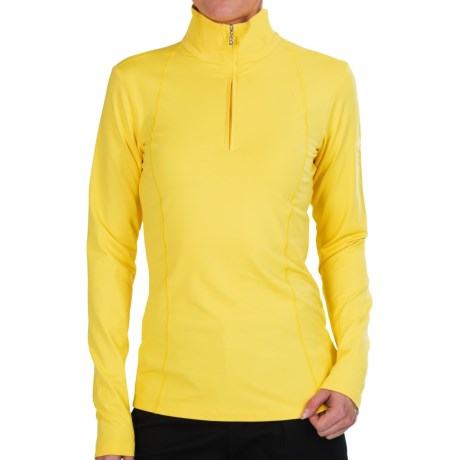 Bogner Marna Jersey Shirt Zip Neck, Long Sleeve (For Women)