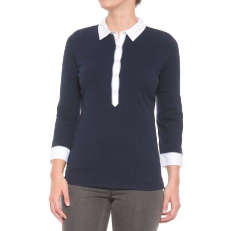 Bogner Masha Shirt - 3/4 Sleeve (For Women) in Blue