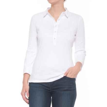 Bogner Masha Shirt - 3/4 Sleeve (For Women) in White - Closeouts