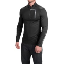 Bogner Matias Shirt - Stretch Nylon, Zip Neck, Long Sleeve (For Men) in Black - Closeouts