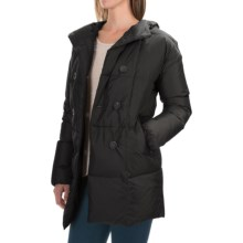 Bogner Mel-D Double-Breasted Down Parka - Hooded (For Women) in Black - Closeouts
