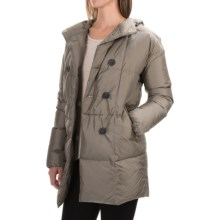 Bogner Mel-D Double-Breasted Down Parka - Hooded (For Women) in Khaki - Closeouts