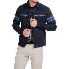 Bogner Michael Stretch Golf Jacket (For Men) in Navy - Closeouts