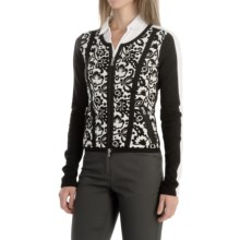 Bogner Moria Golf Sweater (For Women) in Black - Closeouts