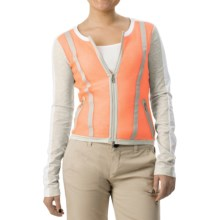 Bogner Moria Golf Sweater (For Women) in Orange - Closeouts