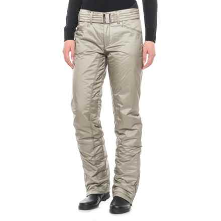 Bogner Nala Ski Pants - Insulated (For Women) in Beige - Closeouts
