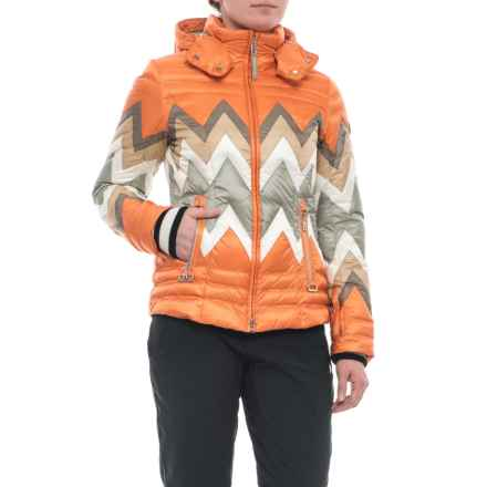 Bogner Nara-D Down Ski Jacket (For Women) in Orange - Closeouts