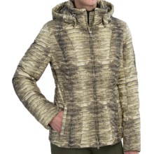 Bogner Nicky Down Ski Jacket - Insulated (For Women) in Brown (Natural) Crocodile Print - Closeouts