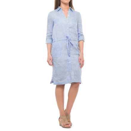 Bogner Paolina Dress - Long Sleeve (For Women) in Blue - Closeouts