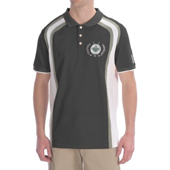 Bogner Pascal Polo Golf Shirt - Short Sleeve (For Men) in Black