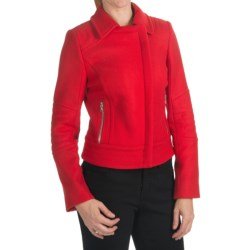 Bogner Pia Short Wool Jacket (For Women) in Red