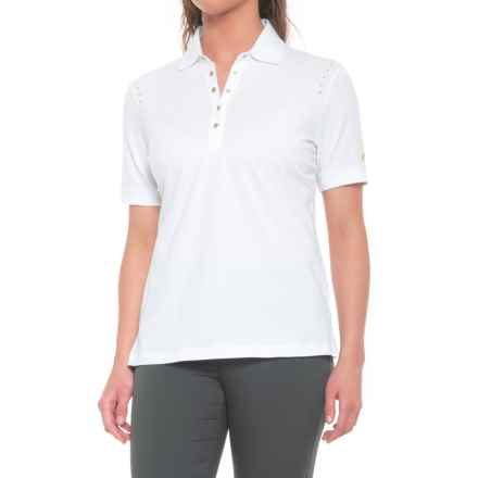 Bogner Polly Golf Polo Shirt - Short Sleeve (For Women) in White - Closeouts