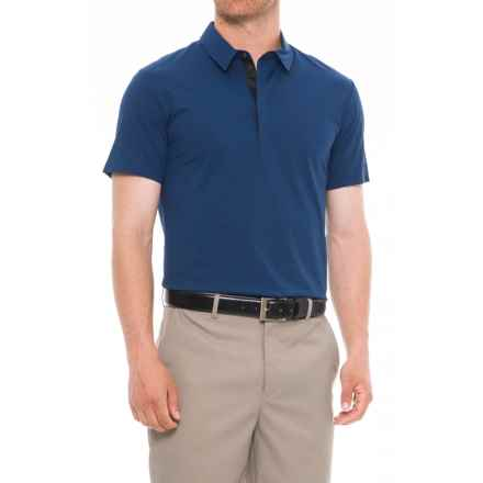 Bogner Ralph Golf Polo Shirt - UPF 20+, Short Sleeve (For Men) in Blue - Closeouts