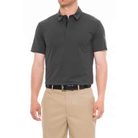 Bogner Ralph Golf Polo Shirt - UPF 20+, Short Sleeve (For Men) in Grey/Black - Closeouts