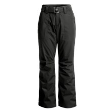 Bogner Ramira Ski Taffeta Pants (For Women) in Black/Polyester - Closeouts