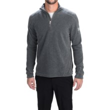 Bogner Remy Fleece Shirt - Zip Neck, Long Sleeve (For Men) in Grey Melange - Closeouts