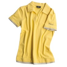 Bogner Rimni Polo Shirt - Short Sleeve (For Women) in Yellow - Closeouts