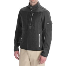Bogner Rocca Golf Jacket - Soft Shell (For Men) in Black - Closeouts