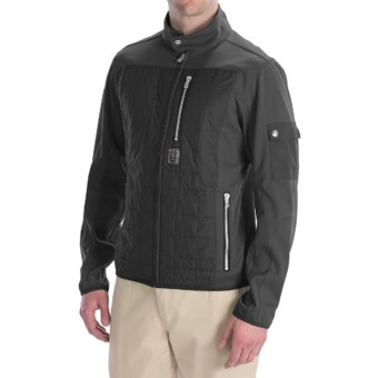Bogner Rocca Golf Jacket - Soft Shell (For Men) in Black
