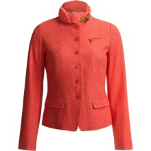 Bogner Romana Cotton-Wool Blazer (For Women) in Coral - Closeouts