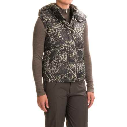 Bogner Rona-D Down Vest - 600 FP (For Women) in Runway Print - Closeouts