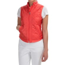Bogner Rosalie Quilted Vest - Insulated (For Women) in Salmon - Closeouts