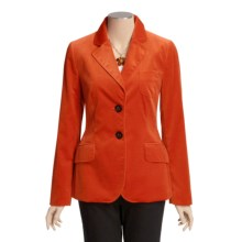 Bogner Scilla Jacket - Cotton Velvet (For Women) in Red - Closeouts