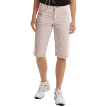 Bogner Seda-G Bermuda Golf Shorts (For Women) in Light Grey - Closeouts