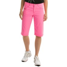 Bogner Seda-G Bermuda Golf Shorts (For Women) in Pink - Closeouts