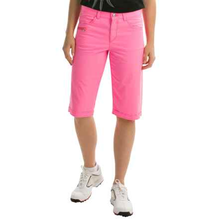 Bogner Seda-G Bermuda Golf Shorts (For Women) in Pink - Closeouts