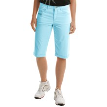 Bogner Seda-G Bermuda Golf Shorts (For Women) in Turquoise - Closeouts