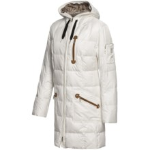 Bogner Selina-D Down Coat - 600 Fill Power (For Women) in Off White - Closeouts