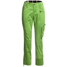Bogner Sharin-G Golf Pants - Stretch Cotton (For Women) in Bright Green - Closeouts