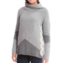 Bogner Sheila Wool Sweater - Cowl Neck (For Women) in Light Gray - Closeouts