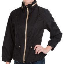Bogner Silvia Gold-Zip Jacket (For Women) in Black - Closeouts
