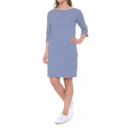 Bogner Sonia Sanny Dress - 3/4 Sleeve (For Women) in Blue - Closeouts